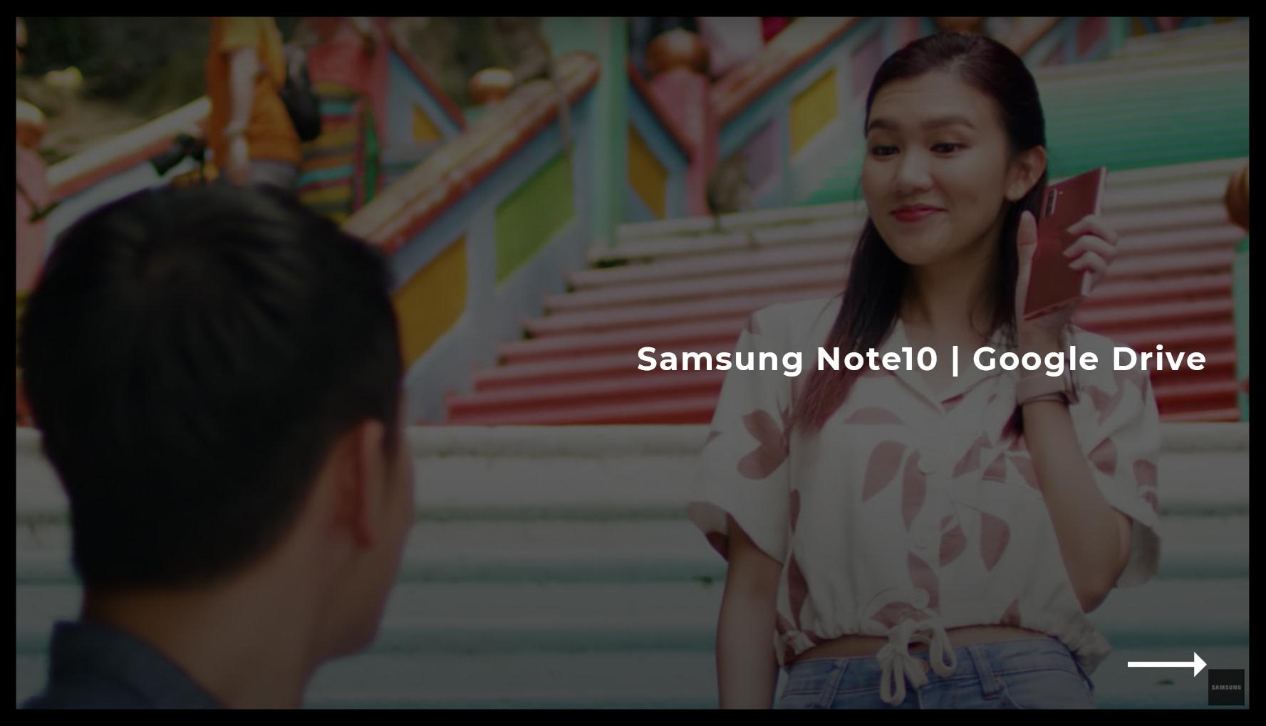 Samsung Note10 - Google Drive